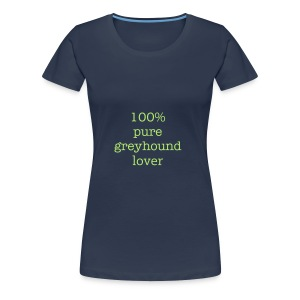 100% pure - Women's Premium T-Shirt