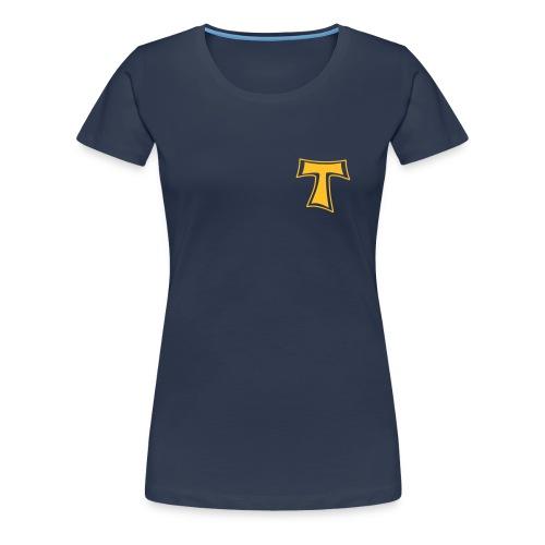 Vadderunser op platt - Frauen Premium T-Shirt