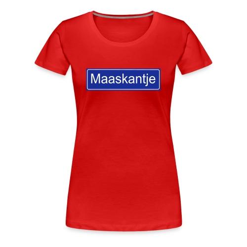 Maaskantje - Vrouwen Premium T-shirt