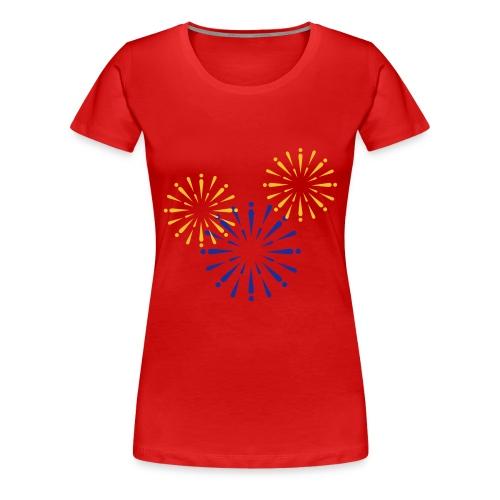 Fireworks - Vrouwen Premium T-shirt