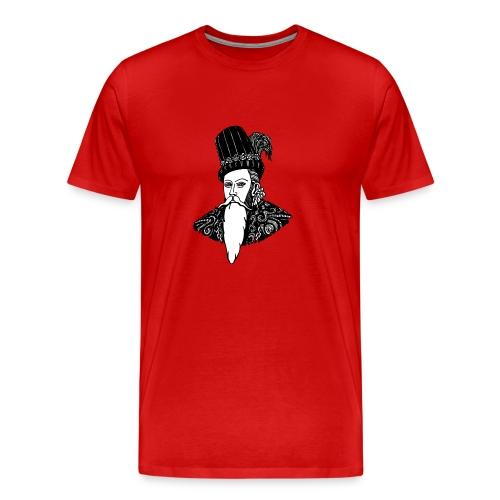 Johan III - Premium-T-shirt herr