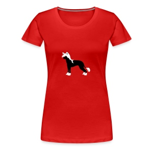 Chinese Crested Dog - Frauen Premium T-Shirt