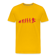 T-shirts ~ Mannen Premium T-shirt ~ Evolution of snowboarding