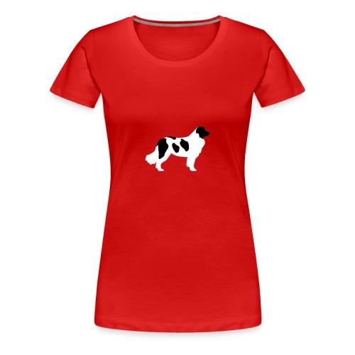 Landseer - Frauen Premium T-Shirt