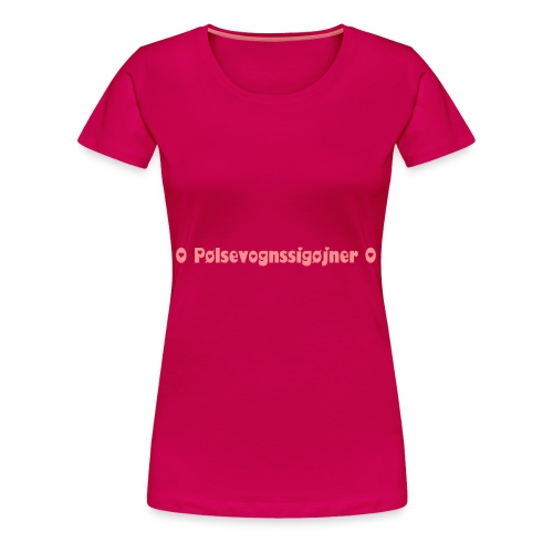 PS special (pink) - Dame premium T-shirt
