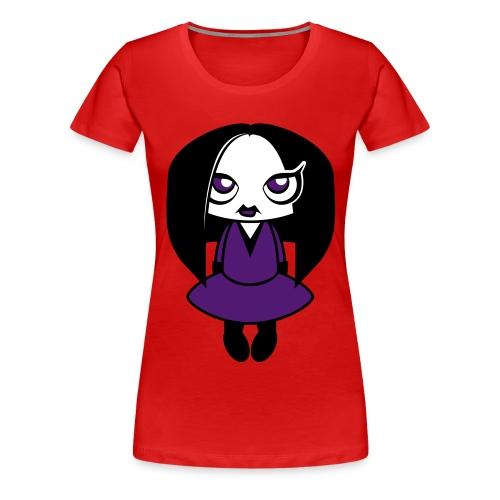 Creepy Girl - Vrouwen Premium T-shirt