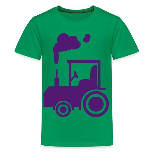 Kid's Classic T-shirt tracktor - Teenage Premium T-Shirt