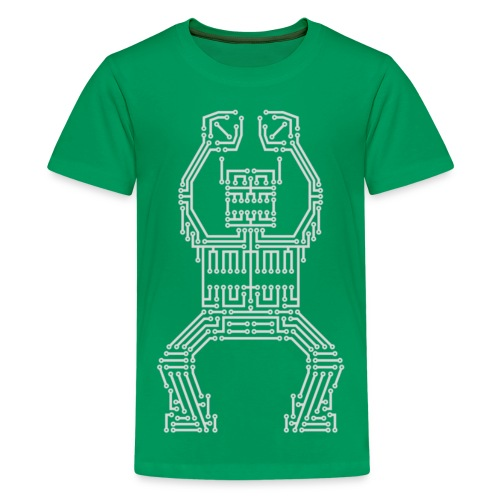 PCB Robot - Teenage Premium T-Shirt
