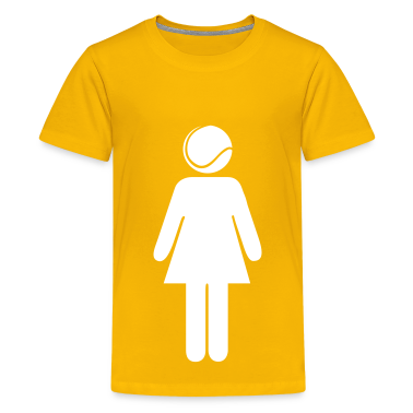 Tennis Woman Kids' Shirts