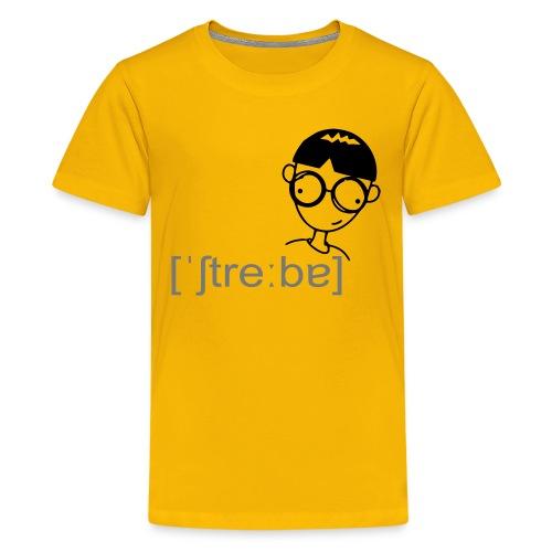 Streber - Teenager Premium T-Shirt