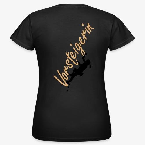 Vorsteigerin (women) - Frauen T-Shirt