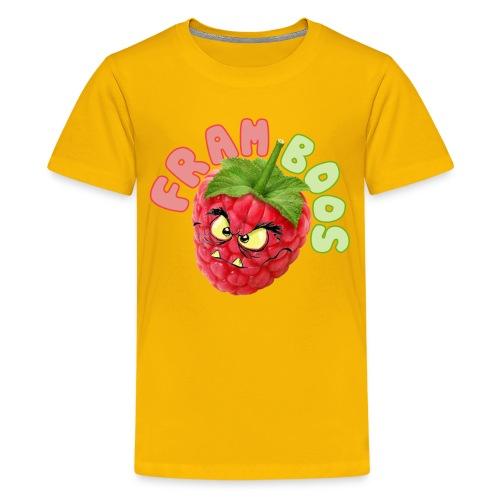 Framboos - Teenager Premium T-shirt