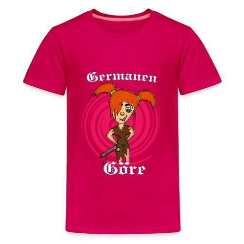 kinder-Shirt klassisch Germanen-Göre - Teenager Premium T-Shirt