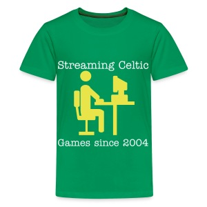 Stream-menY - Teenage Premium T-Shirt