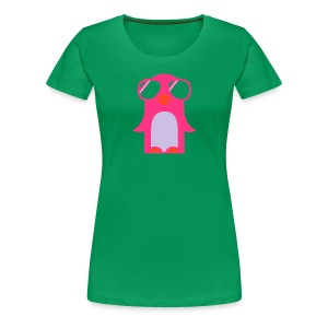 cool Penguin - Frauen Premium T-Shirt