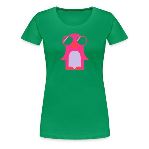 cool Penguin - Frauen Premium T-Shirt