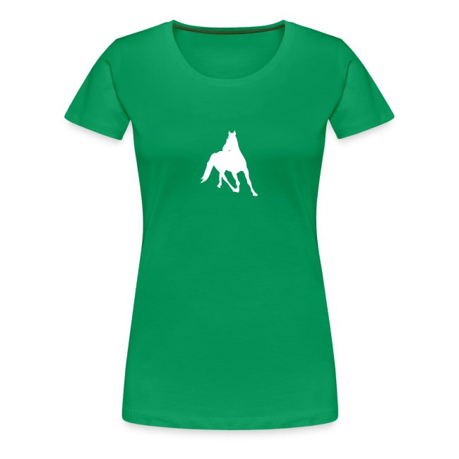 T-Shirt con cavallo al trotto