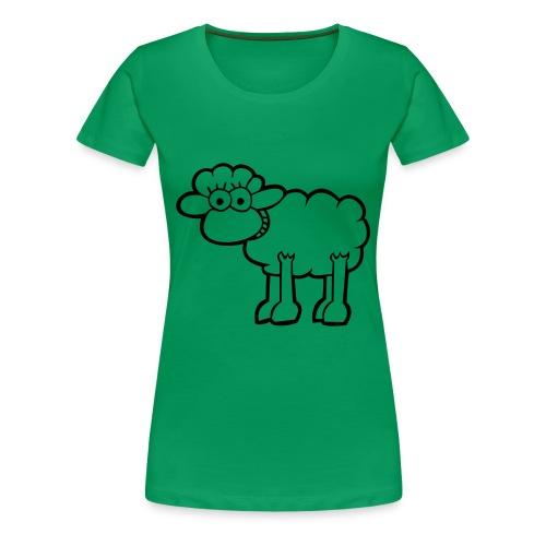 Baaaaa - Womens T-shirt - Women's Premium T-Shirt