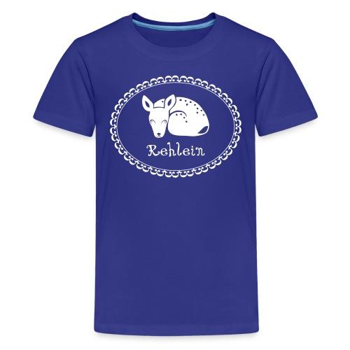 Kinder shirt Rehkitz Rehlein Tiershirt Shirt Tiermotiv - Teenager Premium T-Shirt