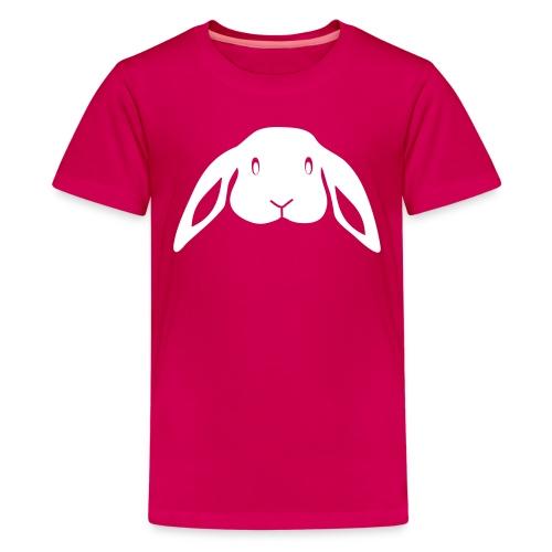 Kinder shirt Hase Häschen Kaninchen Tiershirt Shirt Tiermotiv - Teenager Premium T-Shirt