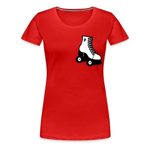 Rollergirlie Tee - Camiseta premium mujer