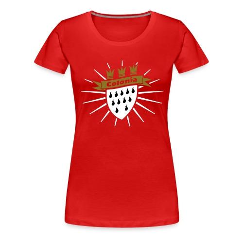 Colonia classic - Frauen Premium T-Shirt
