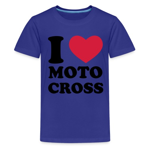 womens motocross t-shirt - Teenage Premium T-Shirt