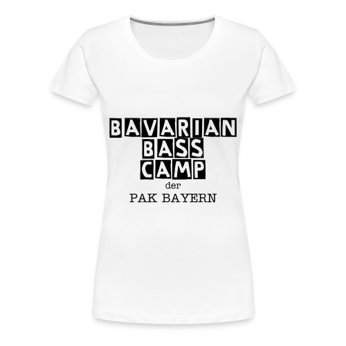 Bavarian Bass Camp Shirt - Frauen Premium T-Shirt