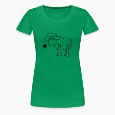 Sheep with clover T-Shirts