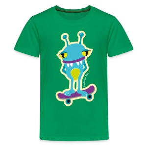 Ping Monster Kids - Teenager Premium T-Shirt