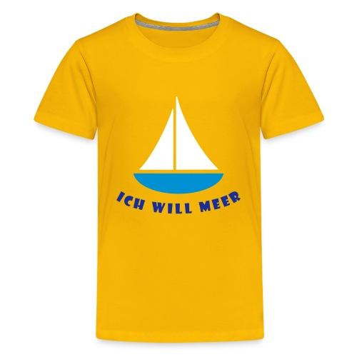 Meer! - Teenager Premium T-Shirt