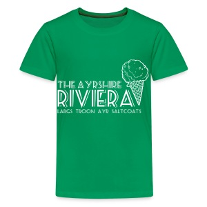 Ayrshire Riviera - Teenage Premium T-Shirt
