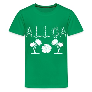 Alloa - Teenage Premium T-Shirt