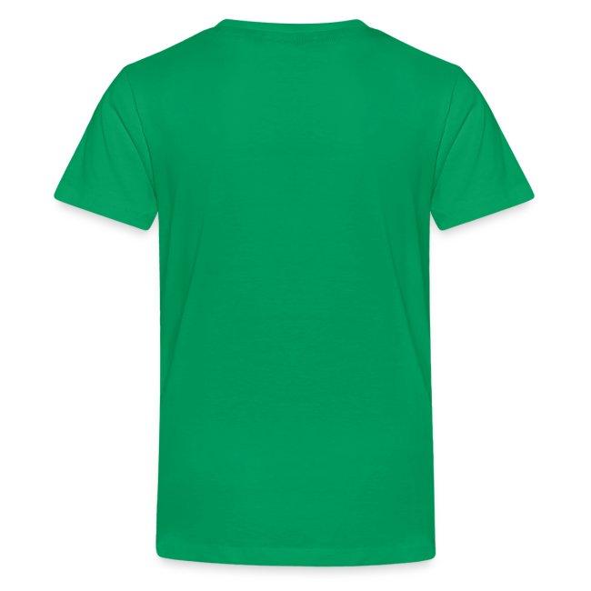 Teenager T-Shirt CATCH THE SPIRIT OF SCANDINAVIA white-lettered