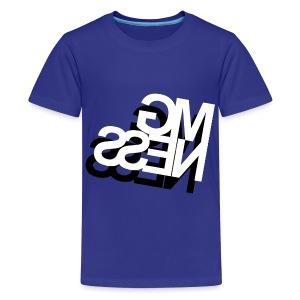MGness DoubleLogo Blue Kids - Teenager Premium T-Shirt