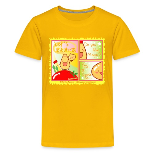 Mayo Comic - Teenage Premium T-Shirt
