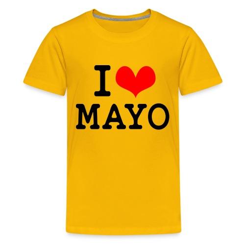 I Love Mayo - Teenage Premium T-Shirt