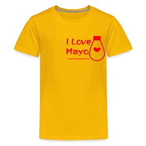 I Love Mayo - Teenage Premium T-Shirt