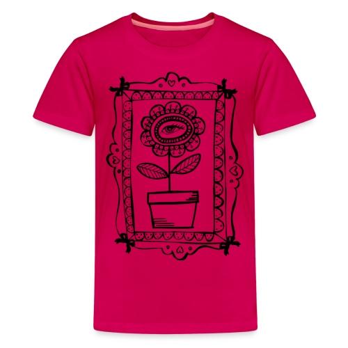 Bloemen schilderij - Teenager Premium T-shirt