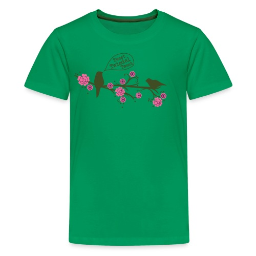 Tweet  - Teenager Premium T-shirt