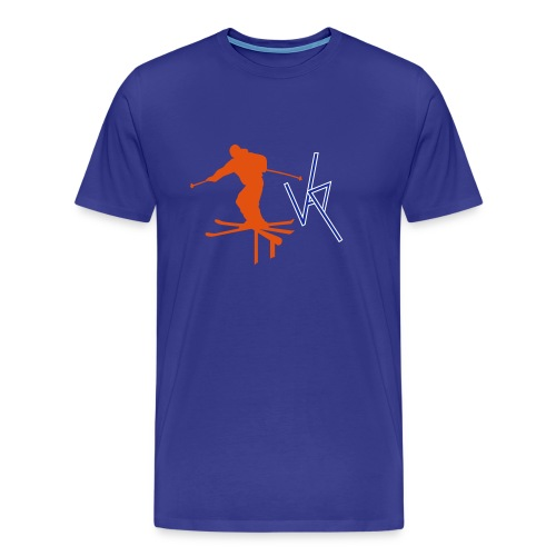 Ski Rail - Men's Premium T-Shirt