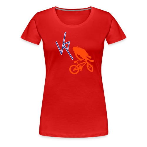 Mountain Biker Womens - Women's Premium T-Shirt