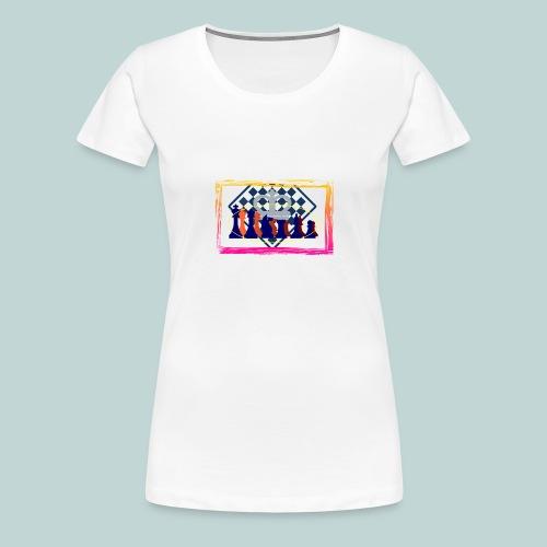 Figurensatz - Frauen Premium T-Shirt