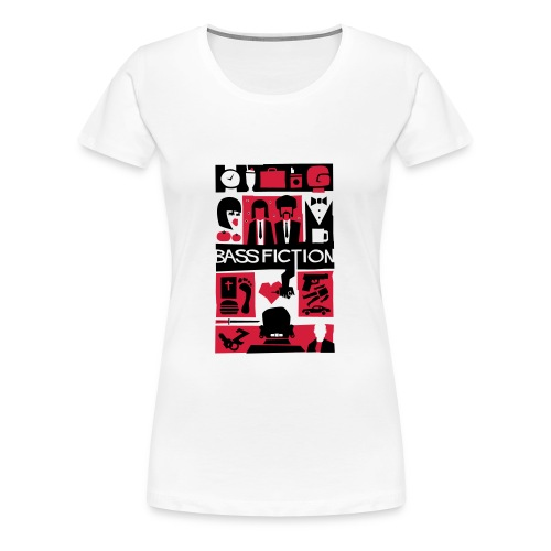 Bass Fiction - Camiseta premium mujer