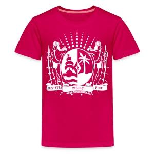 Kids pink - Teenage Premium T-Shirt