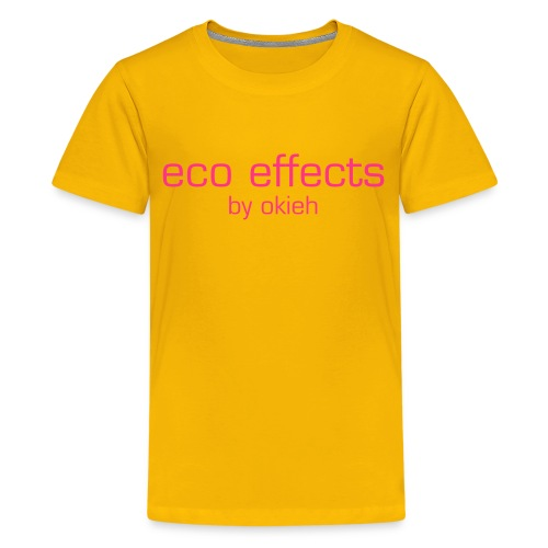 Kinder T-Shirt eco effects - Teenager Premium T-Shirt