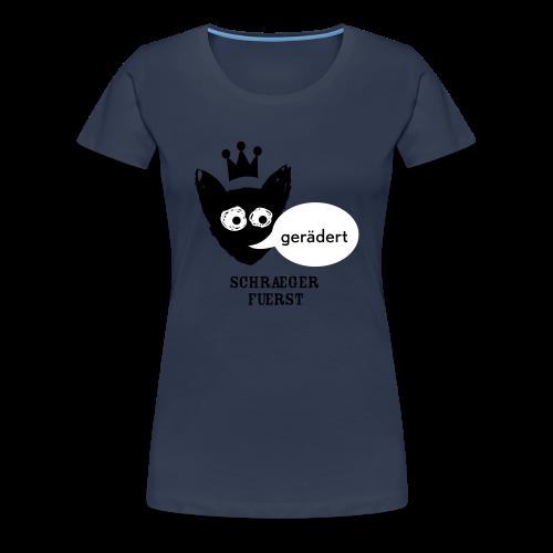 girlieshirt, gerädert - Frauen Premium T-Shirt