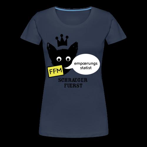 girlieshirt, empoerungsstatist - Frauen Premium T-Shirt