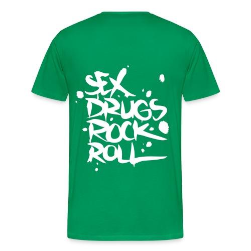 sex, drugs, rr - Männer Premium T-Shirt