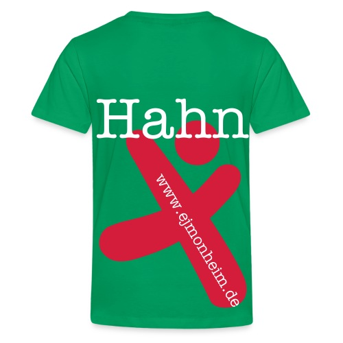 Hahn 1 Kinderfreizeit 2011 - Teenager Premium T-Shirt